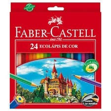 Ecolápis Faber Castell com 24