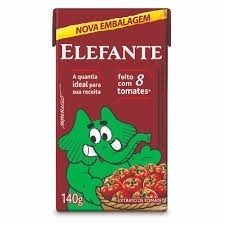 Extrato de tomate Elefante TP 140g