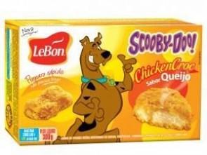 Empanado de Frango Sabor Queijo Scooby-Doo ChickenCroc LeBon 300g