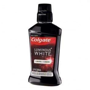 Enxaguante Bucal Luminous White Carvão Colgate 500ml