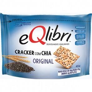 Biscoito Cracker com Chia Original eQlibri 40g