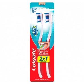 Escova Dental 360 Macia Colgate 2x1