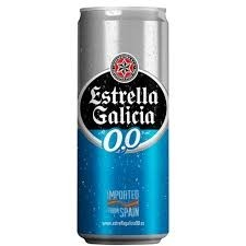 Cerveja Estella Galicia Zero Alcool 330ml
