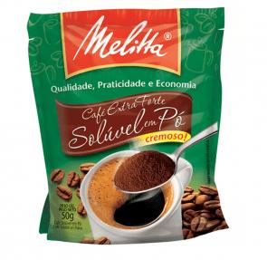 Café Extra Forte Solúvel Melitta 50g