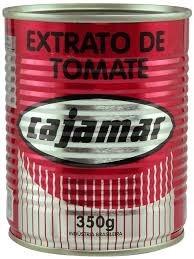 Extrato de Tomate Cajamar 350g