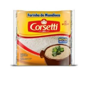Farofa Mandioca Crua Corsetti 500g