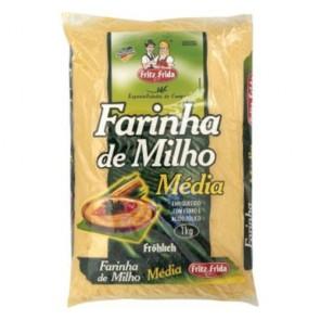 Farinha de Milho Média Fritz & Frida 1kg