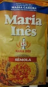 Farinha de Sêmola Maria Inês 1Kg