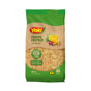 Farofa Mandioca Milho Premium Yoki 380g