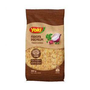 Farofa Tradicional  Premium Yoki 380g