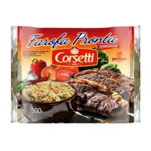 Farofa Pronta Corsetti Trad 500g