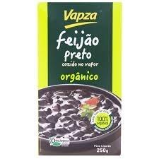 Feijão Preto Orgânico Cozido à Vapor Vapza 280ml