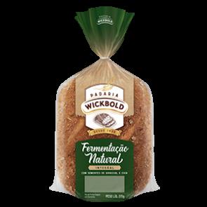 Pão Wickbold Fermentação Natural Integral 370g