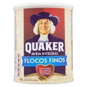 Aveia Flocos Finos Quaker Lata 450g