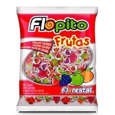 Pirulito Flopito Frutas 800g