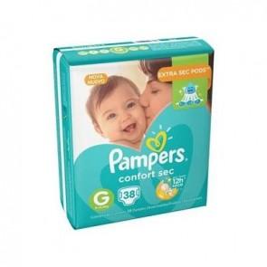 Fralda Pampers Confort Sec G c/38