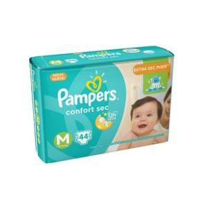 Fralda Pampers Confort Sec  M c/44