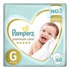 Fraldas Pampers Premium Care G C/68