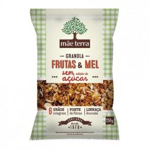 Granola Mae Terra Frutas e Mel Sem Açúcar 250g