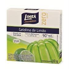 Gelatina Limão Zero Açúcar Linea 10g