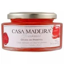 Geléia de Pimenta Casa Madeira 220g