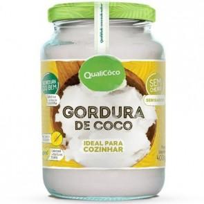 Gordura de Coco Qualicoco Ideal para Cozinhar 400g