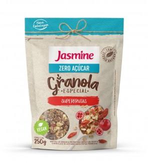 Granola Super frutas Zero Açúcar Jasmine 250g