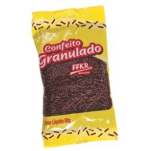 Confeito Chocolate Granulado Ffkr 80g