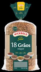 Pão Wickbold 18 grãos 500g