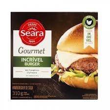 Hambúrguer de Soja Incrível Burger Seara 310g