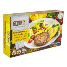 Hamburguer Vegano Gerônimo Berinjela com Castanha de Caju e Gergelim 400g
