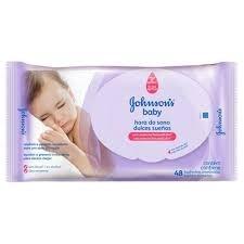 Lenço Umedecido Jonhson Baby Hora do Sono c/48