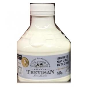 Iogurte Natural Integral Leite A Fazenda Trevisan 500g