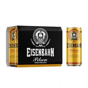 Cerveja Eisenbahn Pilsen pack de 12 com 350ml
