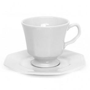 Xícara Chá Oitavado C/Pires