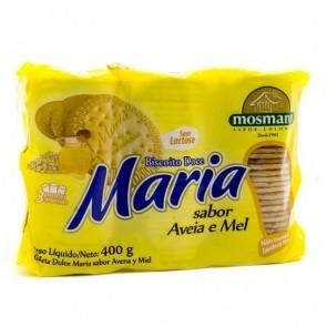 Biscoito Maria Sem Lactose Aveia e Mel  Mosmann 400g