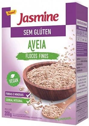Aveia Flocos Fino Jasmine S/Gluten Vegano 200g