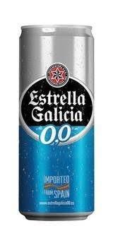 Cerveja Zero Álcool Estrella Galicia 330ml