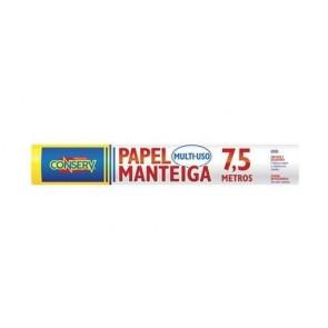 Papel Manteiga 7,5mx30cm Conserv