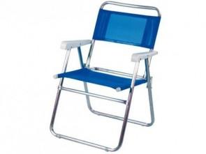 Cadeira aluminio Master MOR