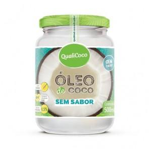 Óleo de Coco Qualicoco S/Sabor 500ml
