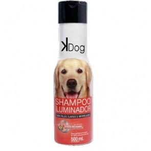 Shampoo Iluminador Pelos Claros 500ML Kdog