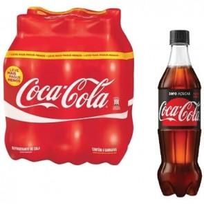 Coca-Cola Zero C/6 600ml