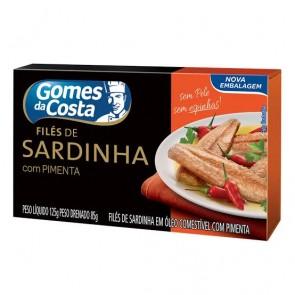 Filé de Sardinha c/ Pimenta Gomes da Costa 125g