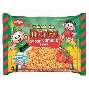 Macarrão Nissin Miojo Tomate Turma da Mônica 85g