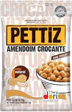 Amendoim Pettiz Crocante Dori Sabor Natural 150g