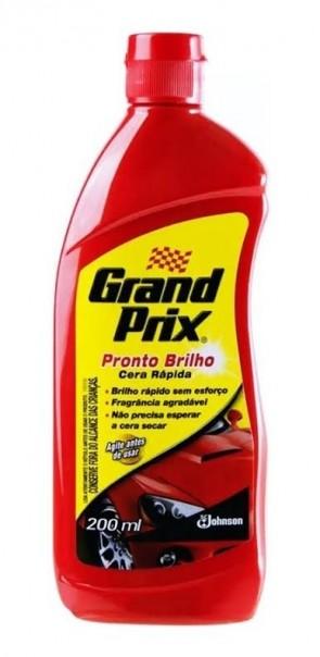 Cera Grand Prix (Ponto Brilho) 200ml