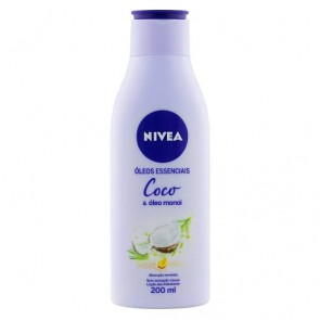 Loção Hidratante Coco Nívea 200ml
