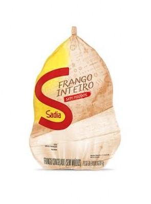 Frango Inteiro Sem Miúdos Sadia Aprox. 1.3kg