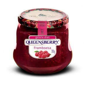 Geleia Diet Frutas Vermelhas Queensberry 280g